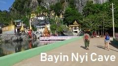 Bayin Nyi Cave Motorbike Motorcycle Touring Mawlamyine Hpa-an Pa-an