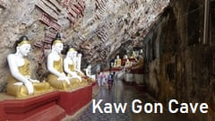 Hpa-an Kaw Gon Cave Kaw Gun Cave Pa-an photo