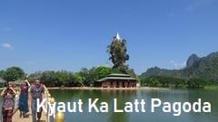 Kyaut Ka Latt Pagoda myanmar Hpa an Pa-an