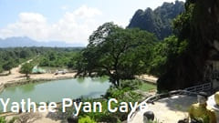 Hpa-an, Yathae Pyan Cave Pa-an photo