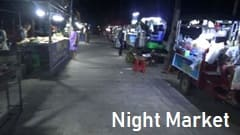 Mawlamyine Night Market photo dinner