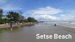 Setse beach Mawlamyine resort