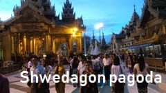Swedagon Pagoda Myanmar yangon Travel Sightseeing Information