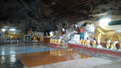 Hpa-an Pa-an Kaw Gon Cave Photo Buddha Reclining Buddha