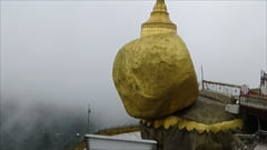 チャイティーヨー・パゴダ Kyaiktiyo Pagoda photo Golden Rock 写真