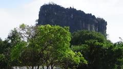 キャウッタロン・パゴダ Kyauk Ta Lone Pagoda Taung Mountain 入口 Entrance Mawlamyine Mawlamyine 写真 phot