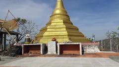 キャウッタロン・パゴダ Kyauk Ta Lone Pagoda Taung Mountain 女性禁制 Mawlamyine Mawlamyine 写真 photo