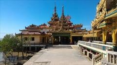 Kyaikkhami yae le pagoda photo、Mawlamyine、キャイッカミ、パゴダ、写真