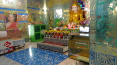Mawlamyine 寝大仏 写真 Win Sein Taw Ya Buddha Reclinado En Construccion Sleeping Big Buddha