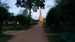 カンギーパゴダ Kan Gyi Pagoda in Mudon 写真 入口