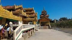 ミャンマー、Kyaikkhami yae le pagoda photo、Mawlamyine、キャイッカミ、写真
