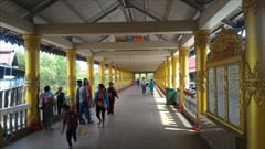 mawlamyine Kyaikkhami yae le pagoda photo、Mawlamyine、キャイッカミ、写真、シーサイド、パゴダ