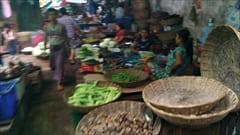 mawlamyine zeigyi no.2 market 食料品、Mawlamyine市内