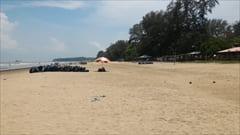 Setse beach silver beach Mawlamyine