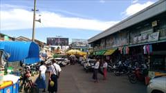 ゼイギーセントラル マーケット、Mawlamyineで一番大きい、買い物、お土産