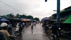 ミャンマー、Mawlamyine、果物、フルーツ、ゼイジーマーケット